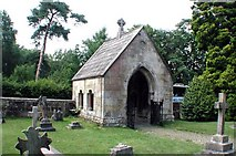 TQ7035 : Christ Church, Kilndown, Kent - Lychgate by John Salmon