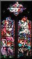 TQ7174 : St Mary, Higham Old Church, Kent - Window by John Salmon