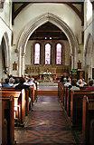 TQ6668 : St Mary Magdalene, Cobham, Kent - East end by John Salmon
