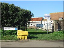 TR3451 : Great Mongeham Farm at junction of Pixwell and Cherry Lanes by Nick Smith