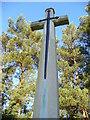 SU7836 : Cross, Bordon Military Cemetery by Colin Smith