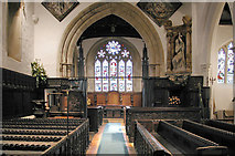 TL1344 : St Leonard, Old Warden, Beds - East end by John Salmon