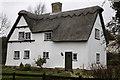 TL3555 : Cottage, Toft, Cambridgeshire by Martin John Bishop