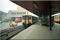 SE1632 : Bradford Interchange Station by Wilson Adams