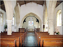 SP6517 : St Mary, Ludgershall, Bucks - East end by John Salmon