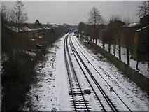 TQ1585 : Sudbury Hill: Marylebone to High Wycombe railway by Nigel Cox