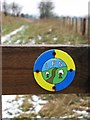 NT5149 : Lauder path network by Richard Webb