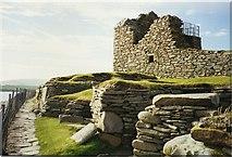 HU3909 : Jarlshof settlement, Sumburgh, South Mainland by Tom Pennington