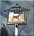 TL9565 : Pub sign - The Dog, Norton by John Myers