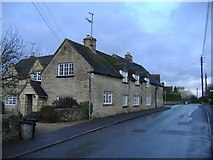 SO9700 : Cottages, Coates by Roger Cornfoot