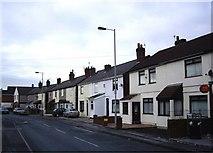 SJ3999 : Terraced cottages, Waddicar Lane, Melling by Tom Pennington