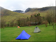 NY1807 : NT Campsite, Wasdale by William Bartlett