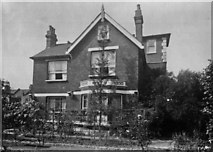 TQ2672 : Side of the Red House, 64 Burntwood Lane, SW17 by William Thomas Pinnell