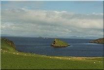 NG4074 : Duntulm Bay, Skye by Tom Pennington