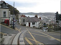 SH7782 : Great Orme Tramway by John S Turner
