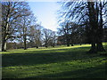 NZ0256 : The grounds of Minsteracres Monastery by Les Hull