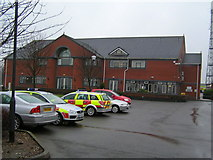 SJ9030 : Staffordshire Fire & Rescue Headquarters from North East by Jack Barber