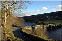 SJ1143 : Carrog Bridge. by Gwilym James