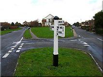 TQ8115 : Moor Lane and Workhouse Lane by Simon Carey