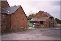 SJ4623 : Farm Buildings, Myddle by Humphrey Bolton