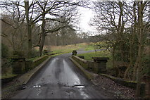 NZ1455 : Bridge over the Pont burn Hamsterley hall by P Glenwright