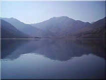 NG9307 : Head of Loch Hourn from Corr Eileanan by Dr Duncan Pepper