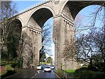 SW8161 : Newquay Branch Line Railway Viaduct by Tony Hodge