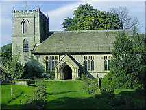 SD9772 : St Mary's church in Kettlewell by Anthony Harrison