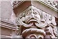 SO4430 : St Mary & St David, Kilpeck, Herefordshire - Carving from doorway by John Salmon
