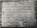 Photo of William Rowan Hamilton stone plaque