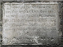 O1337 : William Rowan Hamilton Plaque by JP