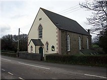 SW8139 : St. Feock Methodist Church. Built in 1866 by Fred James
