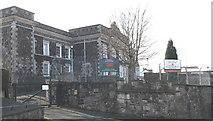 SH4862 : Caernarfon Barracks by Eric Jones
