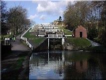 SE1039 : Five Rise Locks, Bingley by Paul Glazzard