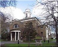 TQ2681 : St Mary's Church, Paddington Green, W2 by John Salmon