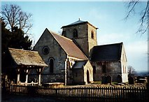 SE7160 : Bossall Church in the frosty morning sun by Andy Kerridge