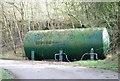 SU0328 : Tank on Manor Farm by Toby