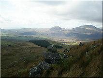 SH6443 : Rocks on side of Moelwyn Bach by John Lynch