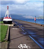 NS2677 : Marker Buoy by Thomas Nugent