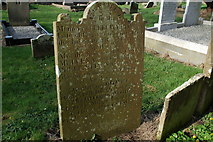 D3115 : Headstone, old graveyard, Glenarm (2) by Albert Bridge
