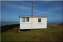 SH1325 : Coastguard lookout on Mynydd Mawr by Alan Fryer