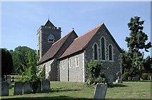 TL4311 : St Botolph, Eastwick, Herts by John Salmon