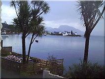NG8033 : High Tide, Plockton. by Dr Duncan Pepper