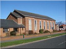 NZ3571 : Cullercoats Methodist Church by Bill Henderson