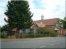 SJ3384 : Church Drive Junior School, Port Sunlight by Peter Bruffell
