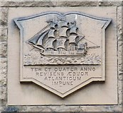 NS3374 : Nautical crest by Thomas Nugent