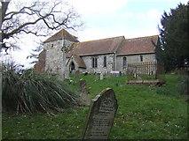 SU8518 : St Mary's church, Bepton by Jonathan Billinger