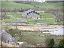 SD7622 : United Utilities plant - Haslingden Grane by liz dawson