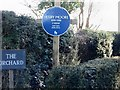 TR1950 : Blue plaque for Henry Moore by Nick Smith