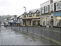 ST1599 : High Street, Bargoed (Facing North) by Kev Griffin